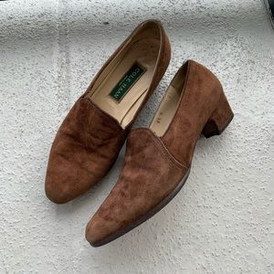Cole Haan Heeled Loafers Size 6 1/2